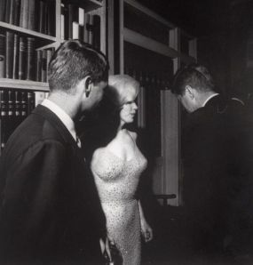 Marilyn and the Kennedy brothers
