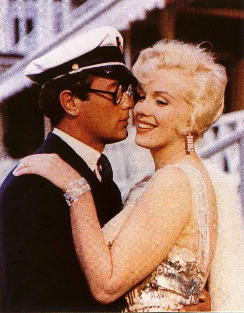 tony curtis marilyn. Marilyn Monroe and Tony Curtis