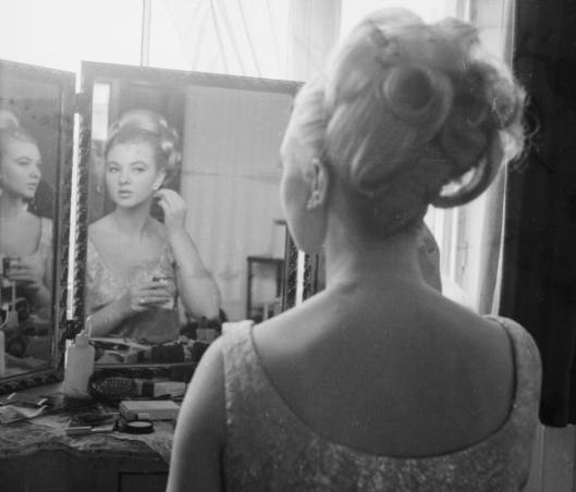 Mandy In The Mirror