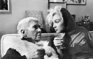 With Carl Sandburg, by Arnold Newman, 1962