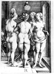 Durer, 'Four Witches'