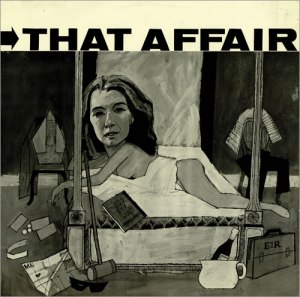'That Affair': cover art by Barry Fantoni