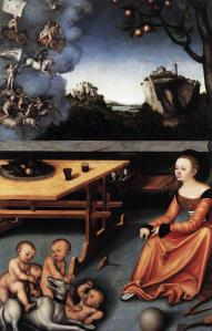 Cranach, 'Allegory of Melancholy'