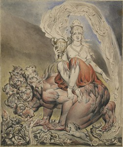 Blake's 'Whore of Babylon'