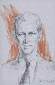 Ward's portrait of Prince Philip