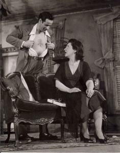 With Maureen Stapleton in 'The Rose Tattoo'