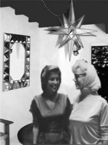 At home with Marilyn