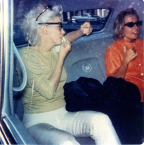 Marilyn and Pat drive to Madison Square Garden