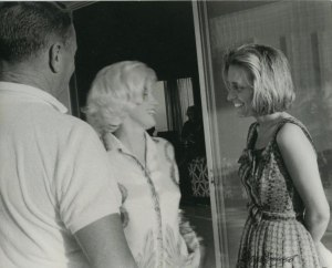 During Marilyn's last photo session with George Barris, July 1962