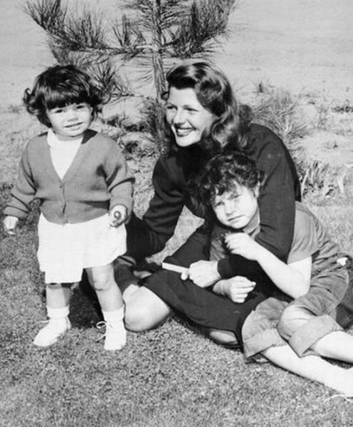 Rita with her daughters, Yasmin and Rebecca