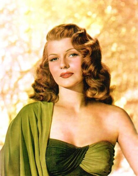 Rita Hayworth as Terpsichore, goddess of dance, in 'Down to Earth'