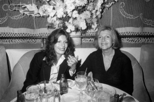 Rita with her daughter, Yasmin Khan, in 1978