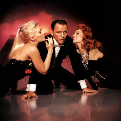 With Kim Novak and Frank Sinatra in 'Pal Joey'