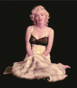 Marilyn Monroe poses for Milton Greene, 1953