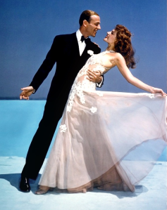 Rita dances with Fred Astaire in 'You Were Never Lovelier' (1942)