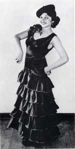 Margarita's dancing career beguns...