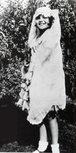 A young Margarita Carmen Cansino