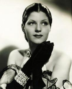 Rita Cansino: an early studio portrait