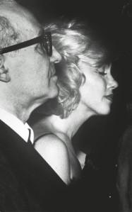 Marilyn Monroe with Lee Strasberg, 1961