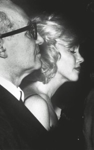 Marilyn Monroe with Lee Strasberg, 1961
