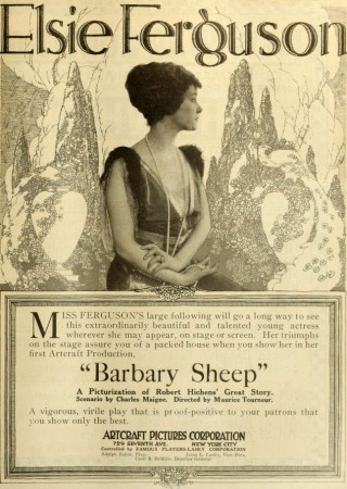 elsieferguson Barbary_Sheep_1917