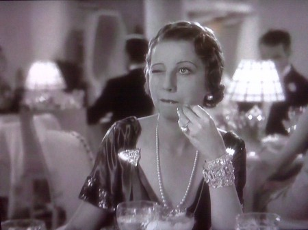 As Madge Hardwick in 'Top Hat' (1935)