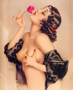Portrait by Alberto Vargas, 1920