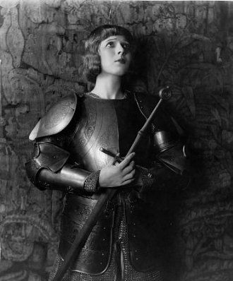 Ina Claire as Joan of Arc
