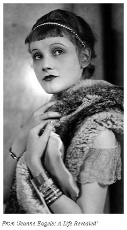 Portrait of Jeanne Eagels in 'Her Cardboard Lover' (1927)