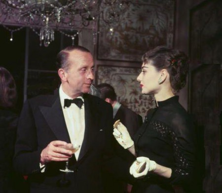 Whitney Warren Jr. with Audrey Hepburn in 1959