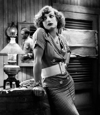 As Sadie Thompson in 'Rain' (1932)