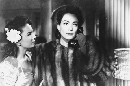 With Ann Blyth in 'Mildred Pierce' (1946)