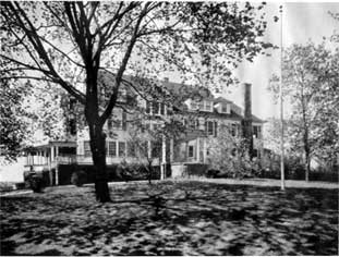 Chadbourne's home in Greenwich, Connecticut