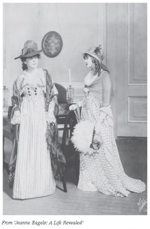 Florence Arliss with Jeanne Eagels in 'Hamilton'