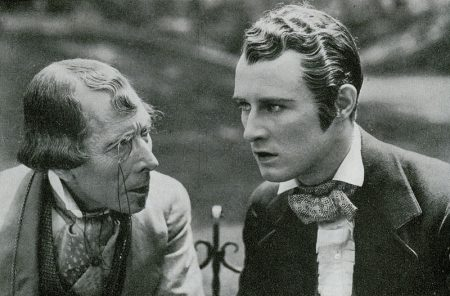 Bushell with George Arliss in 'Disraeli' (1929)