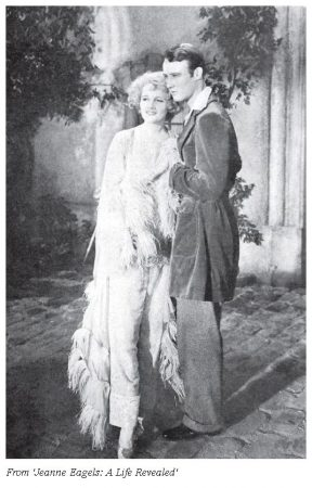 Bushell with Jeanne Eagels in 'Jealousy' (1929)