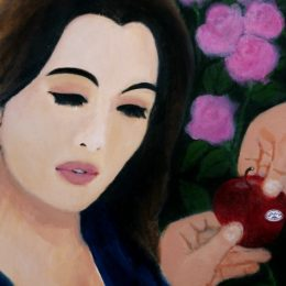 'Christine and the Poisoned Apple' by Fionn Wilson
